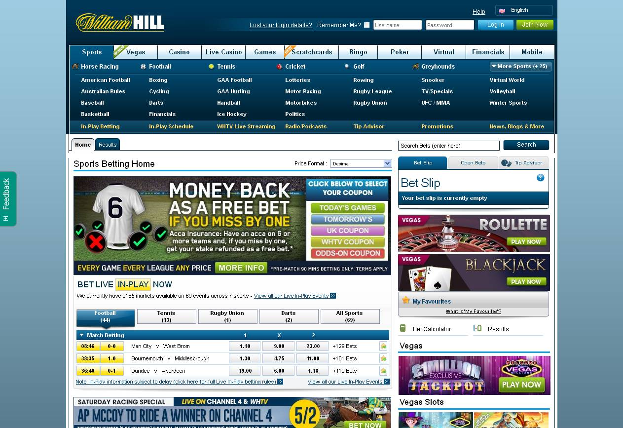 William Hill web